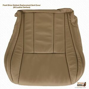 L H Driver Bottom Tan For Toyota 4runner Leather Seat Cover 1996 1997 1998 1999