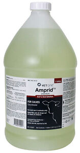 Amprolium 9 6 Amprolium Water Coccidiosis Prevention Cattle Poultry Gallon