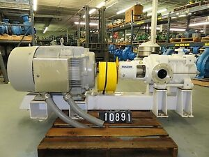 Sulzer Mbn50 215 04 Multi ring Section Pump With 150hp Motor New