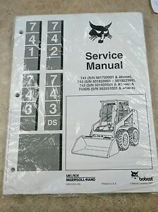 Service Manual For Bobcat 741 742 And 743 6566109