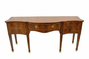 Baker Furniture Stately Homes Collection Inlaid Sideboard Mahogany
