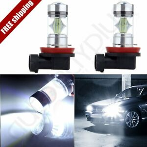 Ultra White H7 6000k 54 Smd Hid Bulb Low Beam Cree Led Head Light 60w Lamps