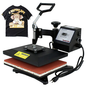 T shirt Heat Press Sublimation Transfer Machine Compact 10 X 12 Swing Away