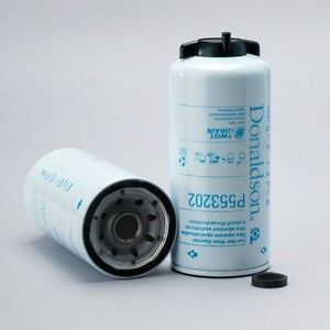 P553202 Donaldson Fuel Filter W Separator Spin On Twis Drain Racor S3202