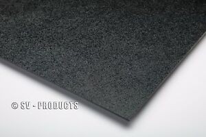 Abs Plastic Sheet Black Vacuum Forming 1 8 Thick 12 X 48 251f