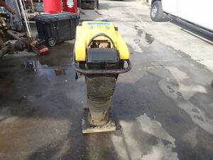 Wacker Neuson Model Ds70 Diesel Rammer Or Jumping Jack Vibratory Compactor