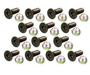 14 Caterpillar Style Skid Steer Cutting Edge Bolts W Nuts 159 2953 8t 4778