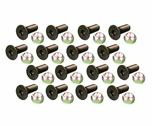16 Caterpillar Style Skid Steer Cutting Edge Bolts W Nuts 159 2953 8t 4778