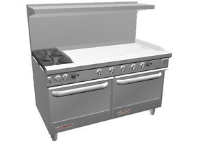 Southbend S60aa 4g S series 60 Range W 48 Griddle 2 Conv Ovens