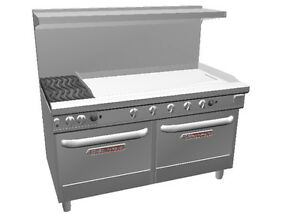 Southbend 4602aa 4t Ultimate 60 Range W 48 Griddle 2 Burners