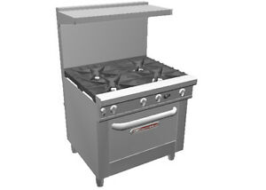 Southbend 4367a Ultimate 36 Range W 4 Large Burners Convection Oven