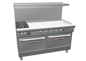 Southbend Ultimate 60 Range W 48 Thermostatic Griddle 2 Conv Oven