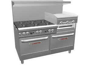 Southbend 4601dd 2rr Ultimate 60 6 Burner Range W Griddle Broiler