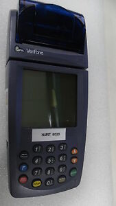 Verifone Nurit 8020 Credit Card Reader Terminal As Is