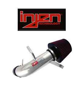 Injen Polished Silver Short Ram Air Intake For Acura Rsx Civic Sp1476p