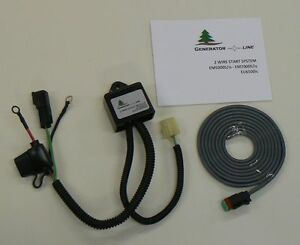 Eu65w2 Remote Start Two wire Control For Honda Eu6500is Em5000is em7000is