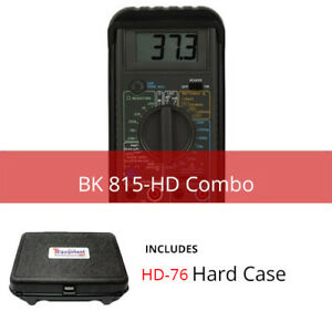 Bk 815 hd Component Tester With Multipurpose Hard Case