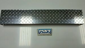 Jeep Yj Diamond Plate Front Frame Cover Polished Aluminum
