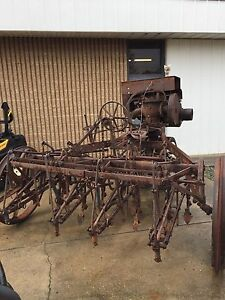 Ih Antique Motorized Cultivator