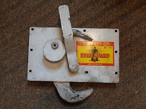 Cast Iron Truck Door Lock Trailer Toolbox Rv Handle Latch Large No Keys