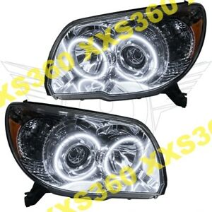 Oracle Halo Headlights For Toyota 4runner Sport 06 09 White Led Angel Demon Eyes