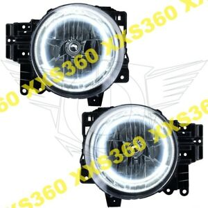 Oracle Halo 2x Headlights Toyota Fj Cruiser 07 14 White Led Angel Demon Eyes