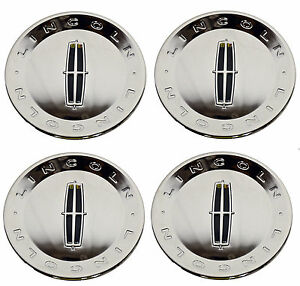 Oem New 2009 2010 Lincoln Town Car Four Chrome Hub Cap Cover Full Set 9w1z1130b