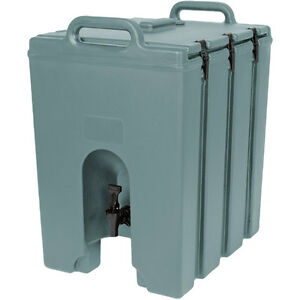 Cambro 1000lcd401 Camtainer 11 3 4 Gallon Beverage Carrier Slate Blue