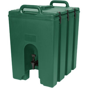 Cambro 1000lcd519 Camtainer 11 3 4 Gallon Beverage Carrier Green