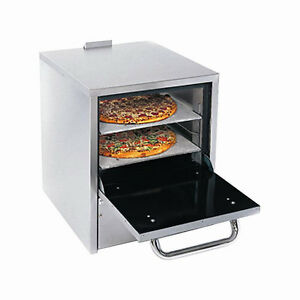Comstock Castle Po19 Pizza Oven Counter Top Gas W Two 19 Hearth Decks
