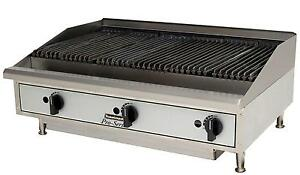 Toastmaster Tmrc36 Countertop 36 Radiant Style Gas Charbroiler