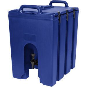 Cambro 1000lcd186 Camtainer 11 3 4 Gallon Beverage Carrier Navy Blue