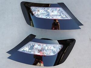06 11 Civic Smoked Tail Lights 2dr Oe Black Painted Non Led Tinted Coupe Custom