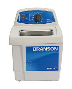 Ultrasonic Cleaner Branson M1800h 60 Min Mechanical Heat 5 Gal Cpx 952 117