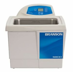 Ultrasonic Cleaner Branson Cpx5800h Digital Heat Bransonic 2 5 Gal Cpx 952 518