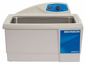 Ultrasonic Cleaner Branson M8800h 60 Min Mechanical Heat 5 5 Gallon Cpx 952 817
