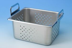 Branson 100 410 168 Stainless Steel Perforated Tank Insert Tray For Model 8800
