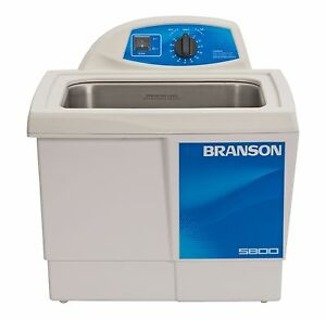 Ultrasonic Cleaner Branson M5800h Mechanical 60 Min Heat 2 5 Gal Cpx 952 517