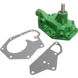 Re60489 Reman Water Pump W o Pulley For John Deere 2140 2240 2755 Tractors