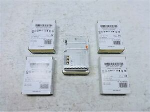 Lot Of 5 Wago 1 channel Relay Output Module Relay