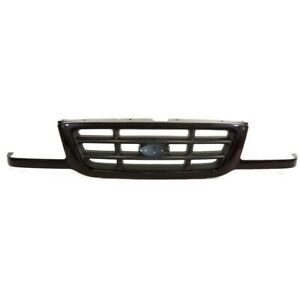 Am Front Grille Black Bar Type For 01 03 Ford Ranger Pickup Truck Xl Xlt Edge