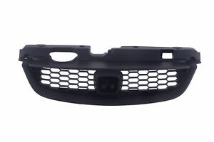 Am Front Grille Black Shell And Insert For 04 05 Honda Civic 2dr Coupe Plastic