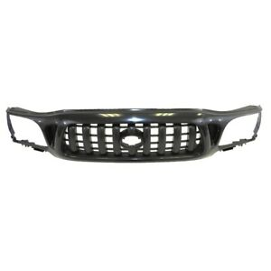 Am New Front Grille Black Shell And Insert For 01 04 Toyota Tacoma W O S Runner
