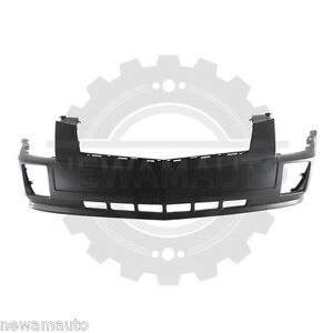 Am New Front Bumper Cover For Cadillac Srx Prime Gm1000696 19121106