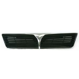 Am New Front Grille For Mitsubishi Lancer Chrome Mi1200233 Mr539652