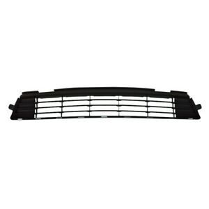 Black Bumper Lower Grille Primed Black For 2011 2013 Toyota Corolla 5311202280
