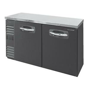 Nor lake Nlbb60n 15 6 Cu Ft Refrigerated Back Bar Cabinet With 2 Solid Doors