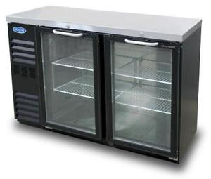 Nor lake Nlbb48ng 11 6 Cu Ft Refrigerated Back Bar Cabinet With 2 Glass Doors