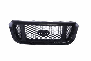Am New Front Grille Black Shell W Honeycomb Silver Insert For 04 05 Ford Ranger