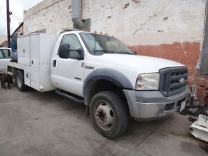 2006 Ford F 450 Mechanic Truck W Welder Compressor Auto Crane